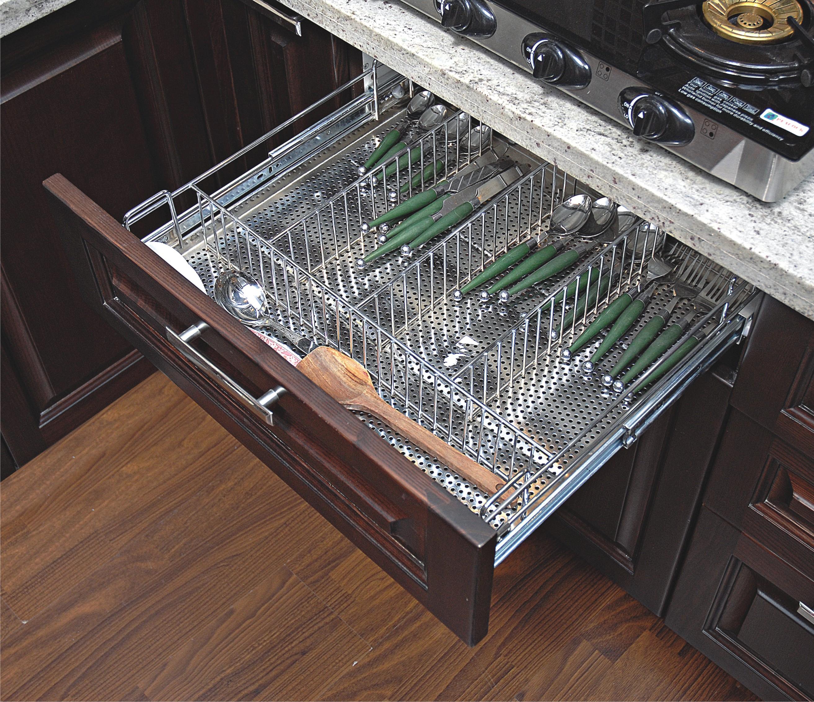 Stainless Steel Kitchen Basket, SS Kitchen Basket, Steel