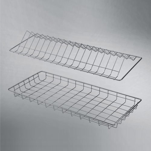 Glass Tray Plate Tray (Wire)