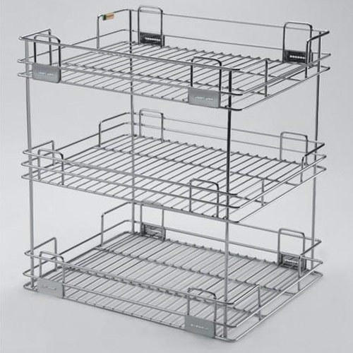 Standing Kitchen Organiser 3 Shelves