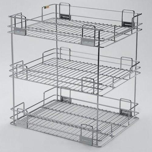 Standing Kitchen Organiser 3 Shelves